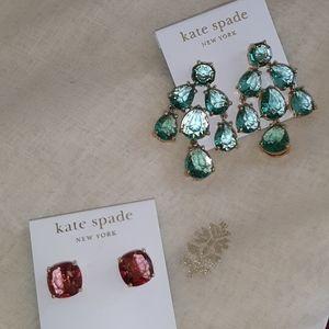 Kate Spade 14 kt gold fill earrings